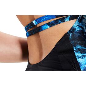 speedo Stormza 1 Piece Swimsuit Dame black/blue